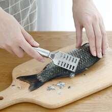 Edelstahl-Fischschuppenschaber