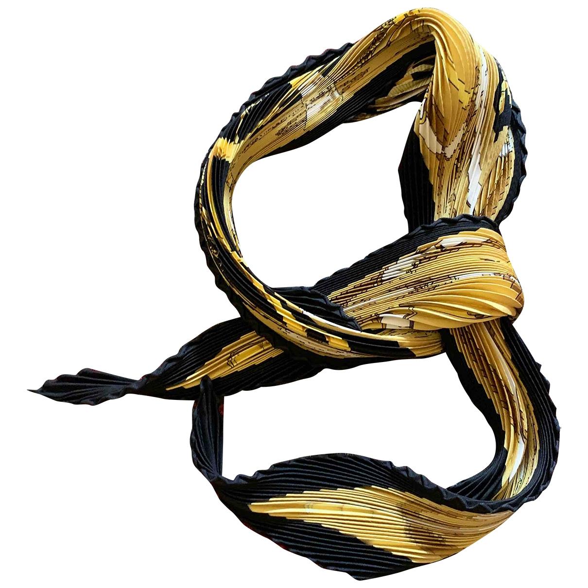 Hermès Plissé Silk Silk handkerchief for Women \N