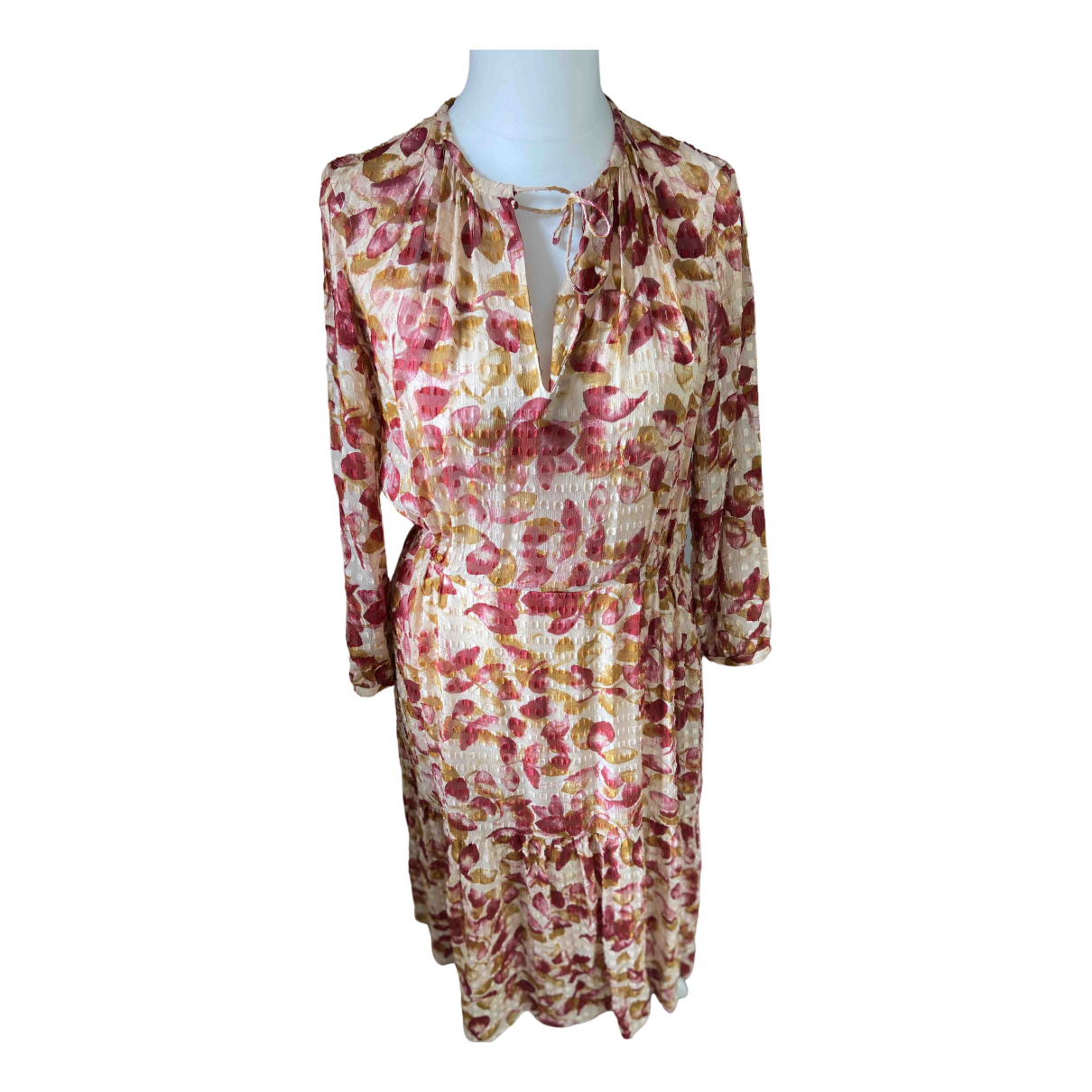 Bellerose \N Ecru Silk dress for Women 3 0-5