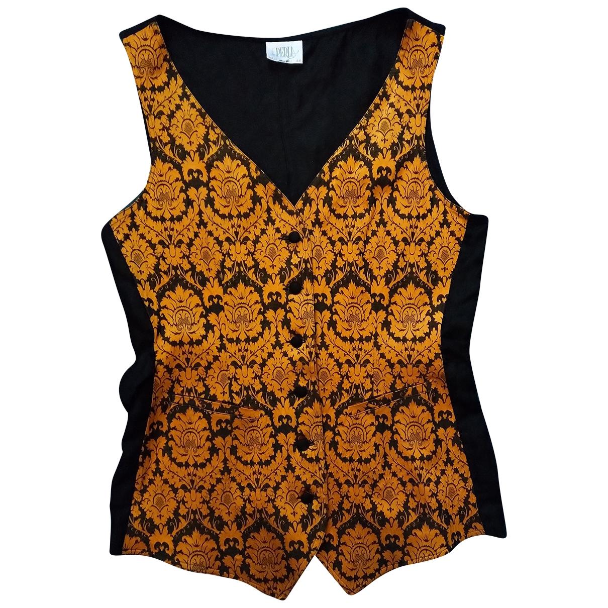 La Perla \N Black Cotton jacket for Women 44 IT
