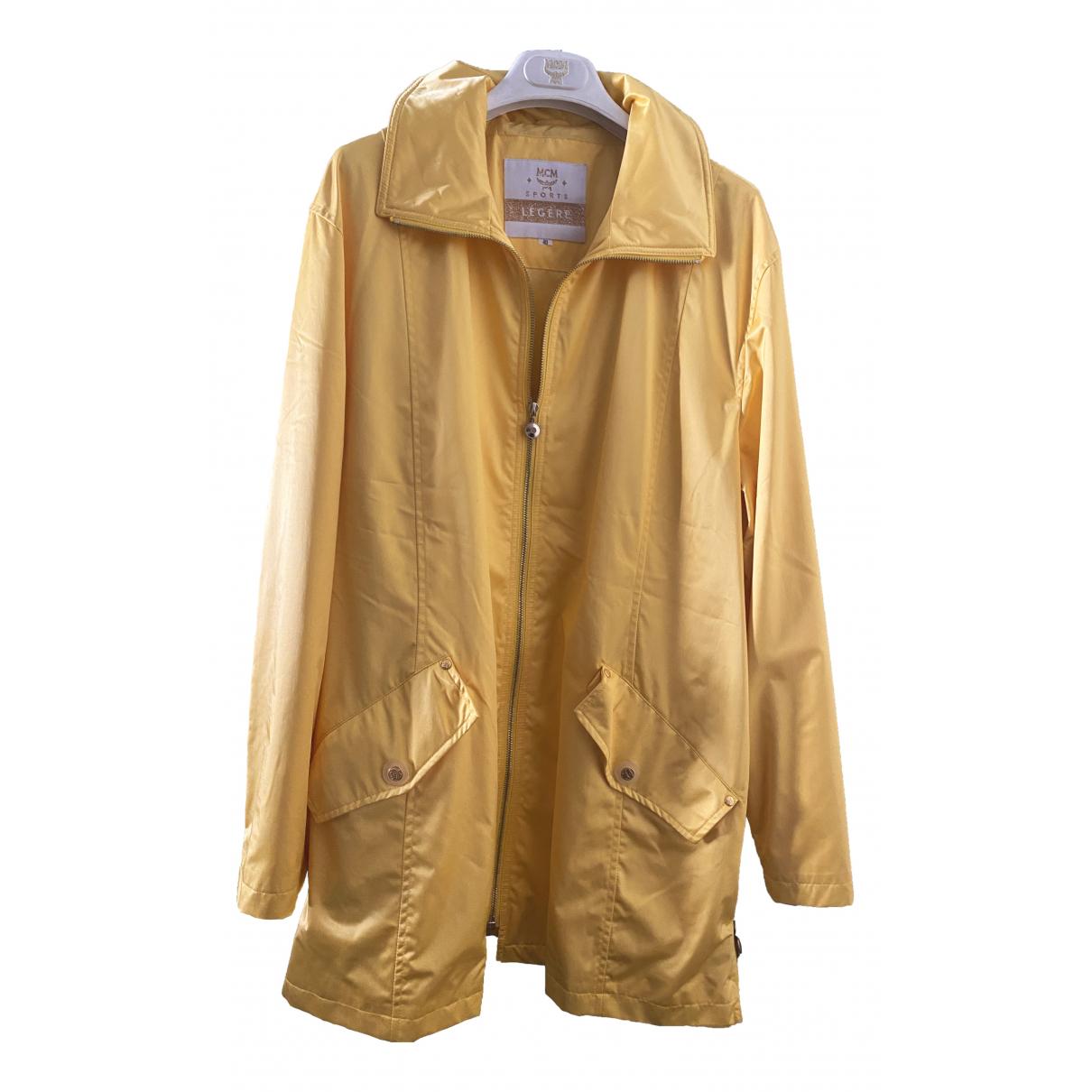 Mcm - Manteau   pour femme - jaune