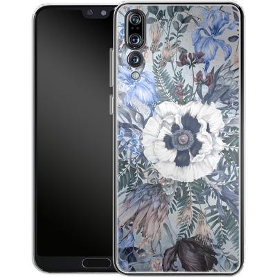Huawei P20 Pro Silikon Handyhuelle - Frost von Stephanie Breeze
