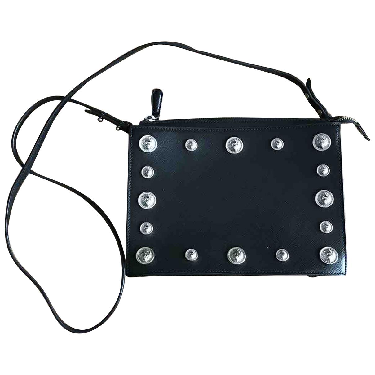 Versus N Black Leather handbag for Women N