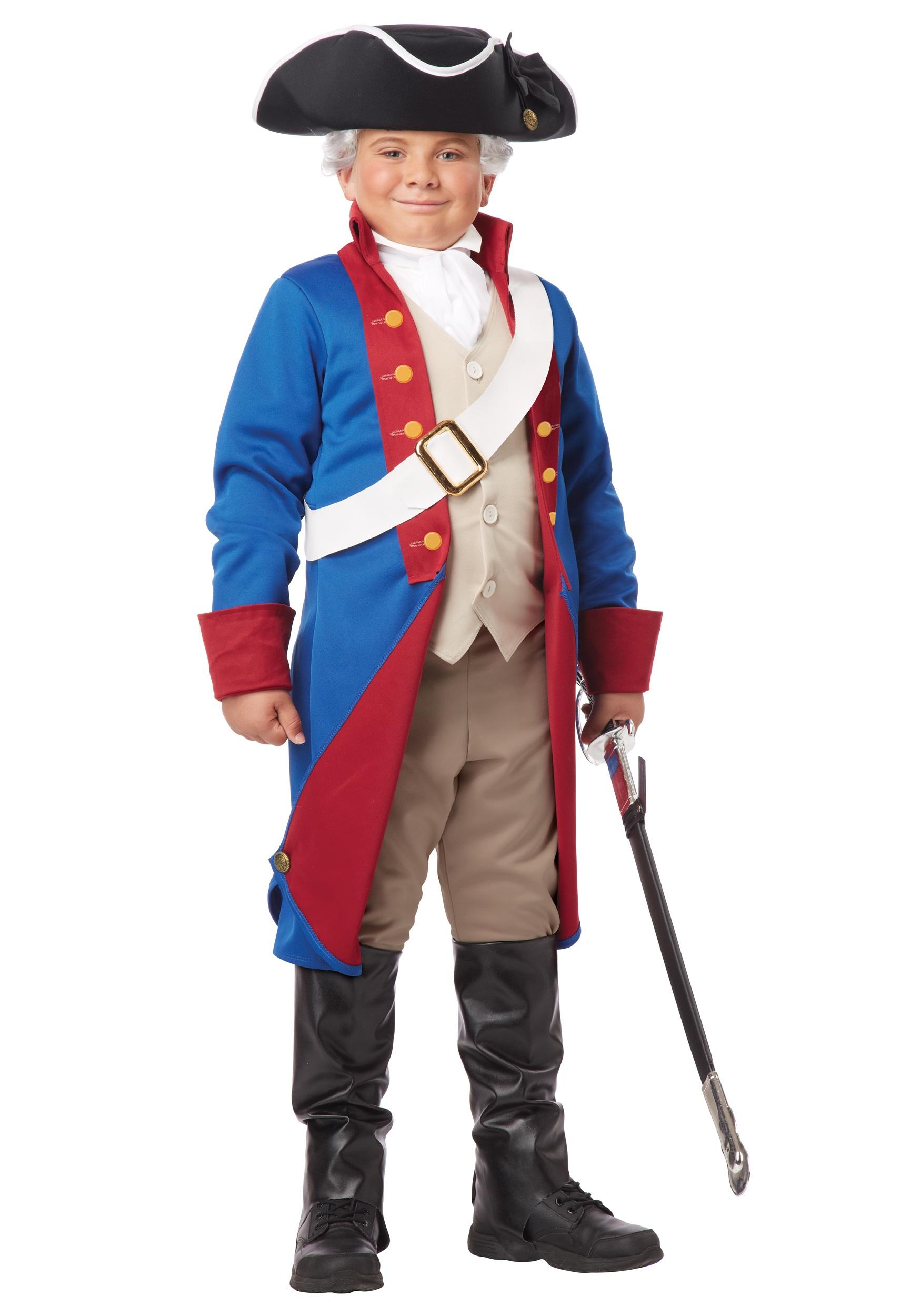 American Patriot Boys Costume