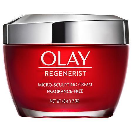 Olay Regenerist Micro-Sculpting Cream Face Moisturizer, Fragrance-Free Fragrance-Free - 1.7 oz