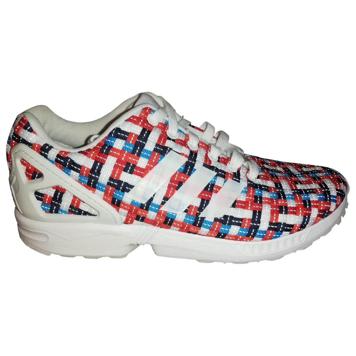 Adidas - Baskets ZX pour homme en toile - multicolore