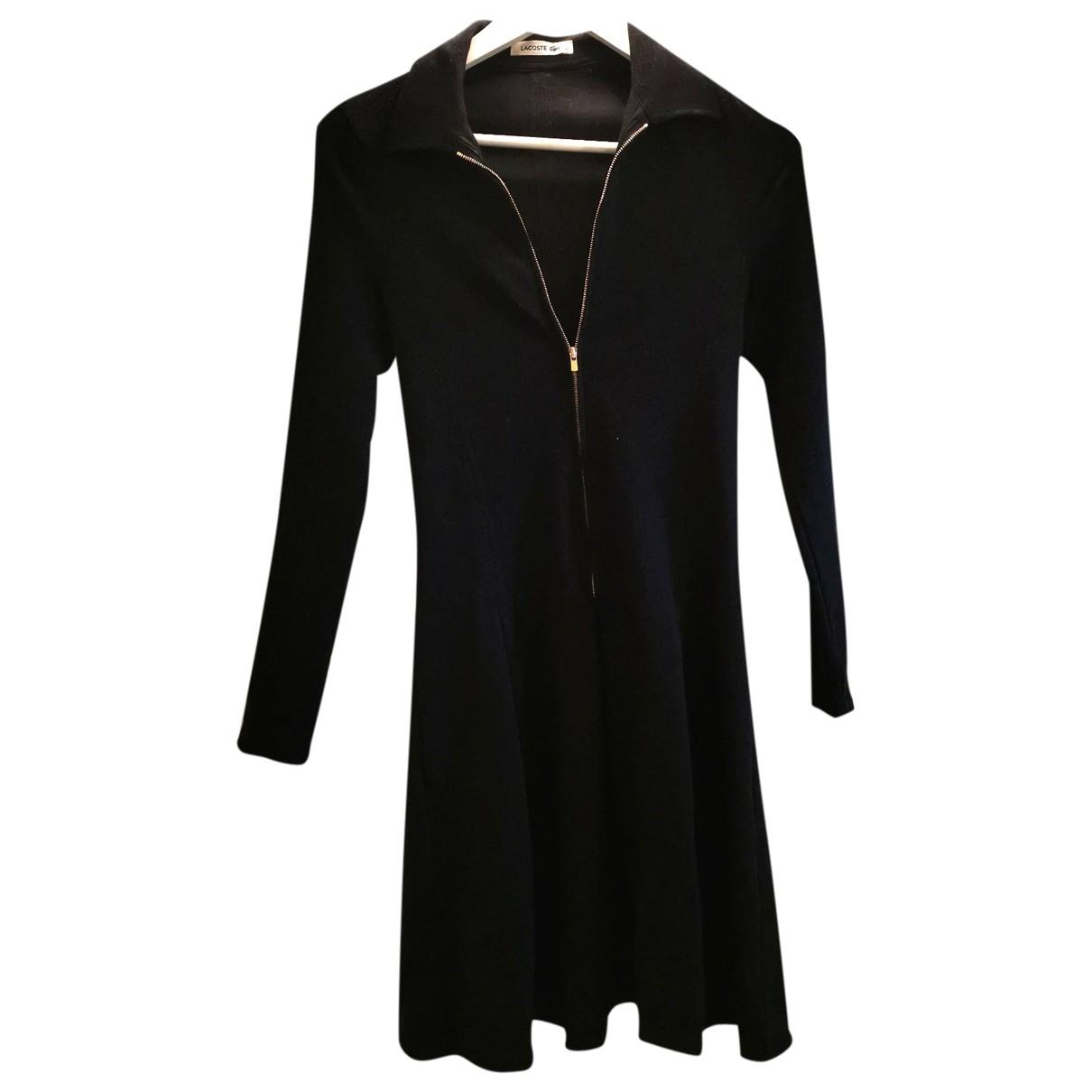 Lacoste \N Black Wool dress for Women 32 FR