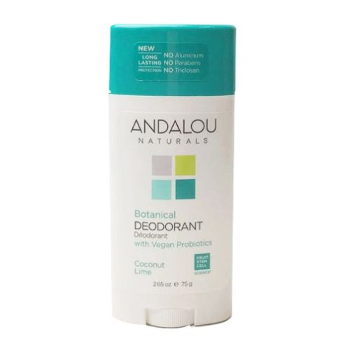 Coconut Lime Deodorant 2.65 Oz by Andalou Naturals