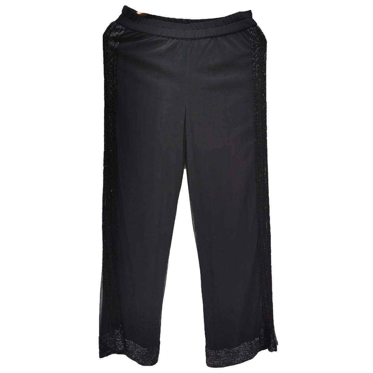 Ganni Spring Summer 2019 Black Trousers for Women S International