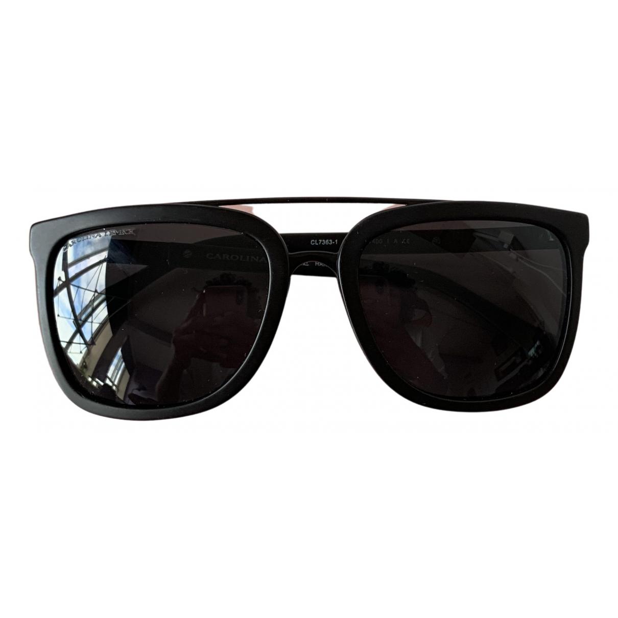 Carolina Lemke \N Black Sunglasses for Women \N