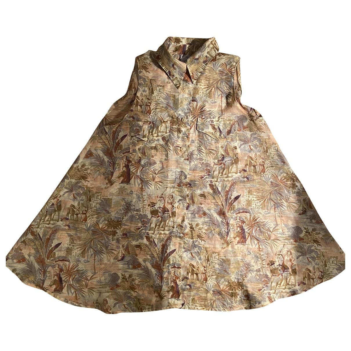 Kenzo \N Kleid in  Bunt Polyester