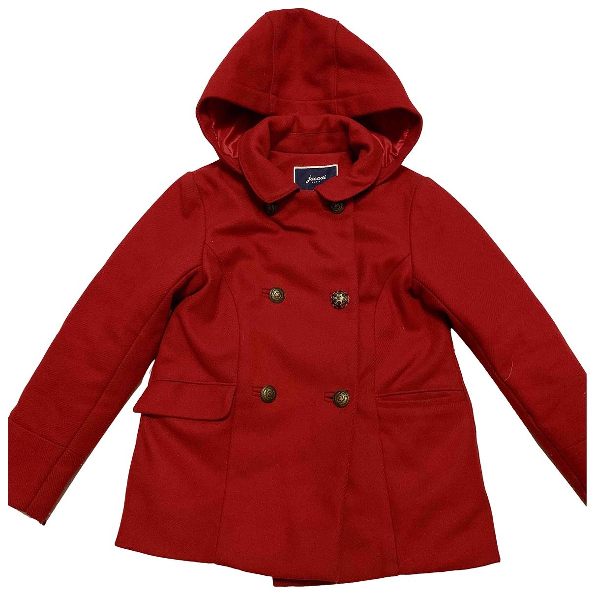 Jacadi \N Red Wool jacket & coat for Kids 10 years - up to 142cm FR