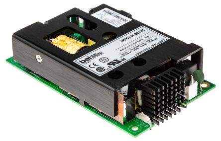 BEL POWER SOLUTIONS INC , 125W Embedded Switch Mode Power Supply SMPS, 12V dc, Open Frame