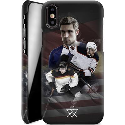 Apple iPhone XS Smartphone Huelle - Leon Draisaitl America von Leon Draisaitl