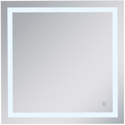 MRE13636 Helios 36In X 36In Hardwired Led Mirror With Touch Sensor And Color Changing Temperature