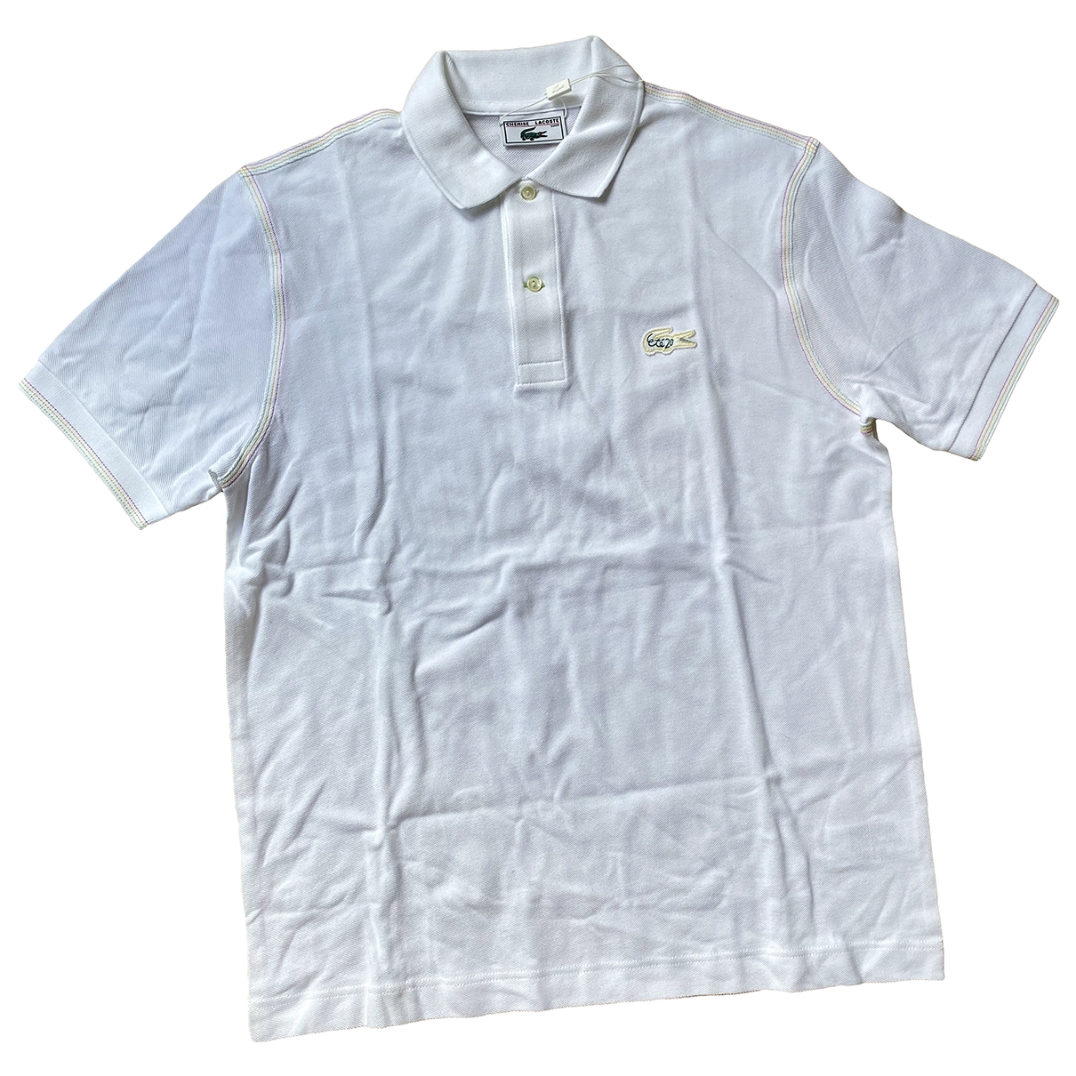 Lacoste \N White Cotton Polo shirts for Men L International