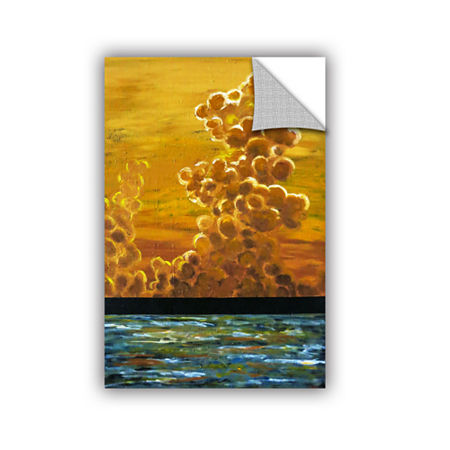 Brushstone Dream Ephemeral Removable Wall Decal, One Size , Orange