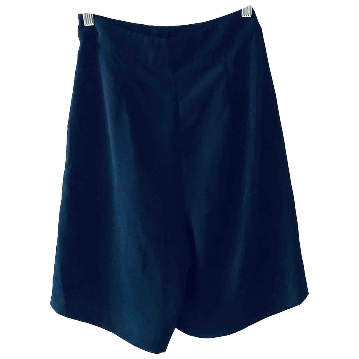 - Short   pour femme - bleu