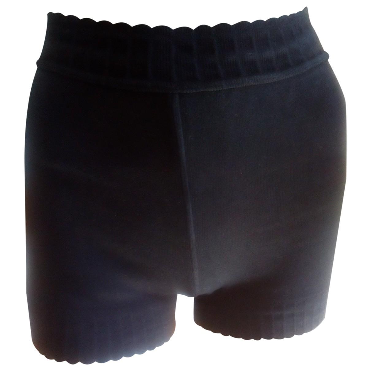 Alaïa \N Black Cotton Shorts for Women XS International
