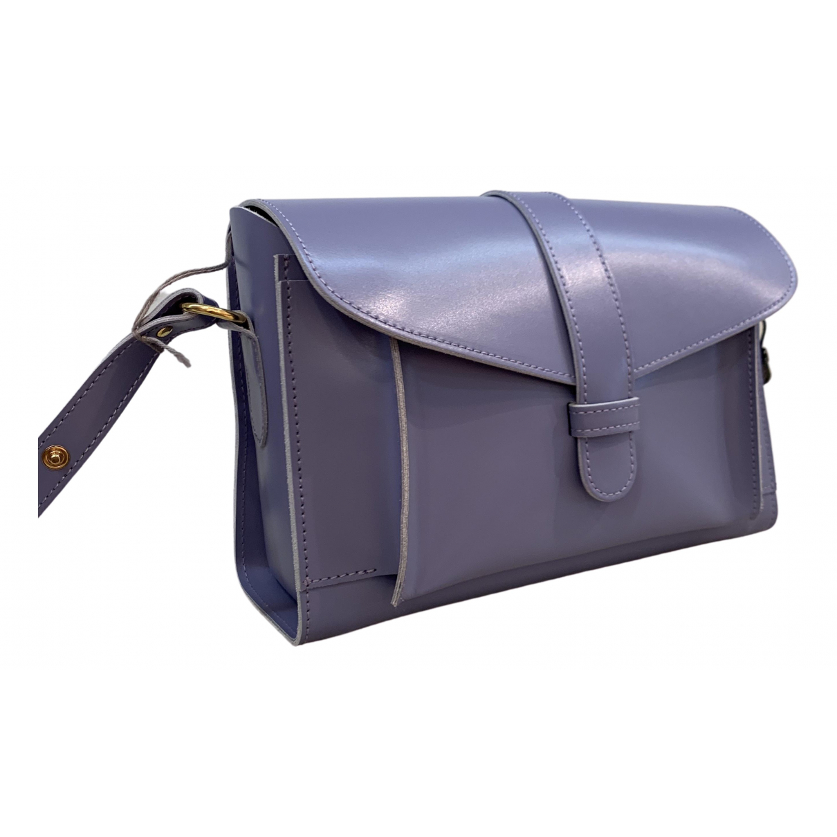 Marni \N Handtasche in  Lila Leder