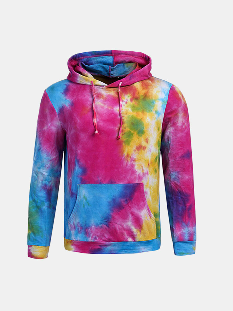 Mens Hoodies Original 3D Colorful Printing Fashion Casual Sport Hooded Tops