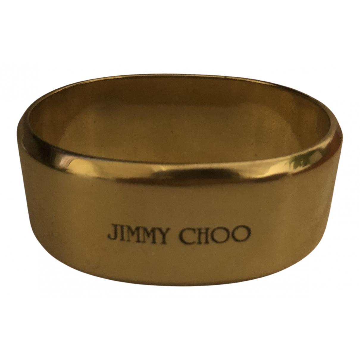 Jimmy Choo \N Armband in  Gold Gelbgold