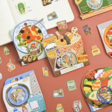 40pcs Food Print Sticker