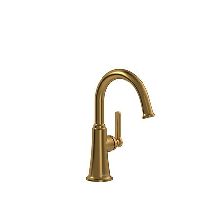 Momenti MMRDS00JBG-10 Single Hole Lavatory Faucet with J Lever Handle without Drain 1.0 GPM  in Brushed