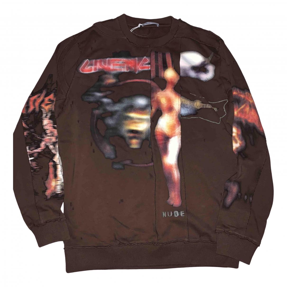 Givenchy \N Pullover.Westen.Sweatshirts  in  Braun Baumwolle