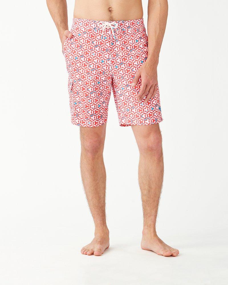 Baja Kaleidoscope Cay 9-Inch Board Shorts