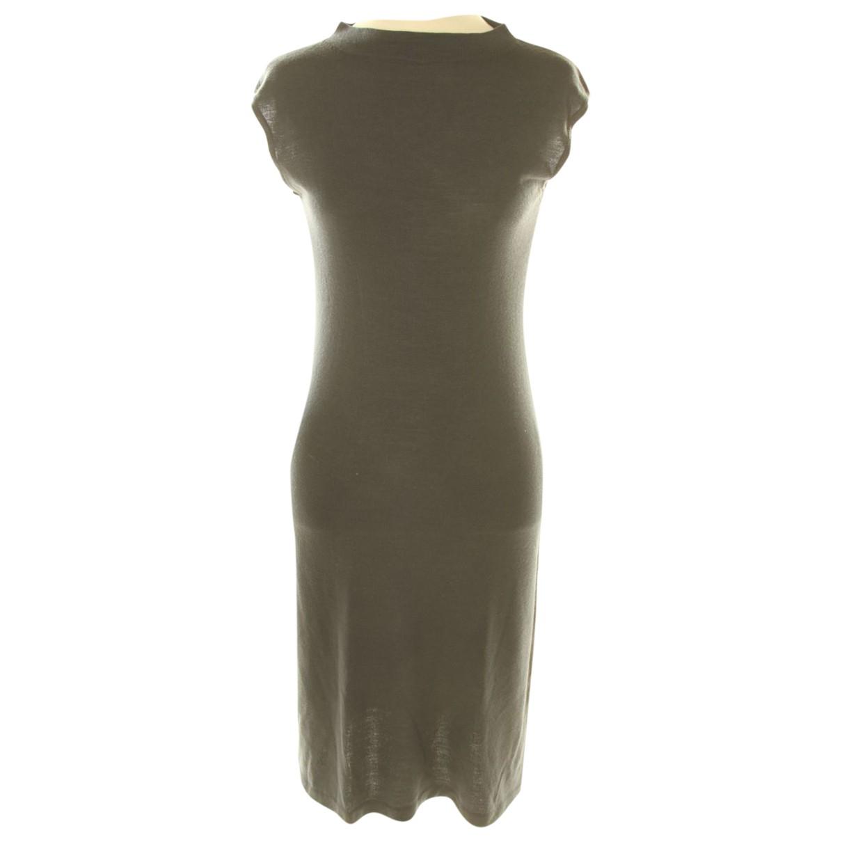 Lacoste - Robe   pour femme en coton - marine