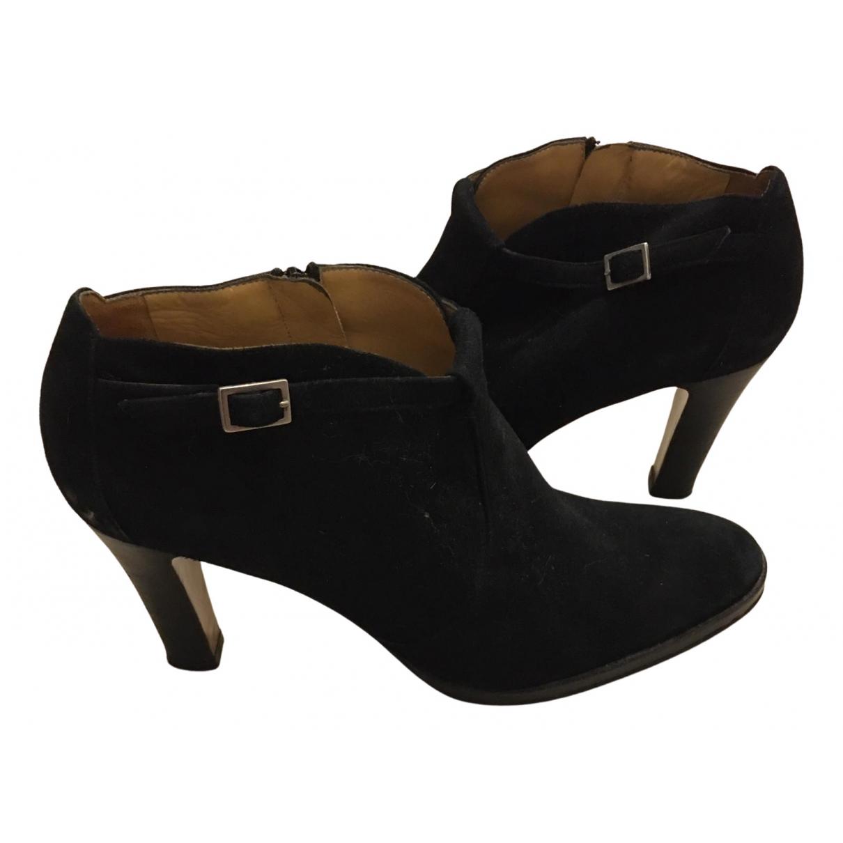 Atelier Voisin N Black Suede Ankle boots for Women 41 EU