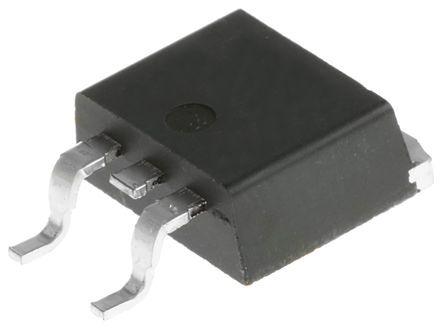 STMicroelectronics , 8 V Linear Voltage Regulator, 1.5A, 1-Channel, ±2% 3-Pin, D2PAK L7808ABD2T-TR (10)