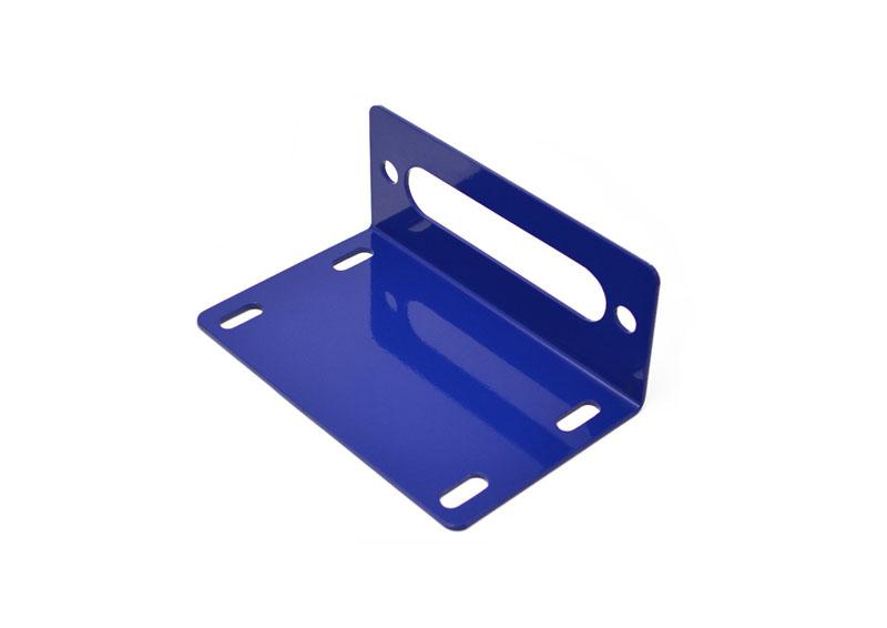 Steinjager J0048659 Winch Accessories Wrangler JK 2007-2018 Fairlead Mount Southwest Blue