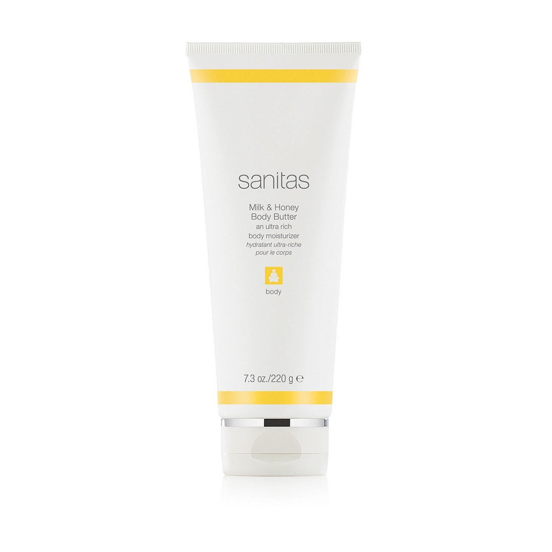 sanitas Milk & Honey Body Butter (7.3 oz / 220 g)