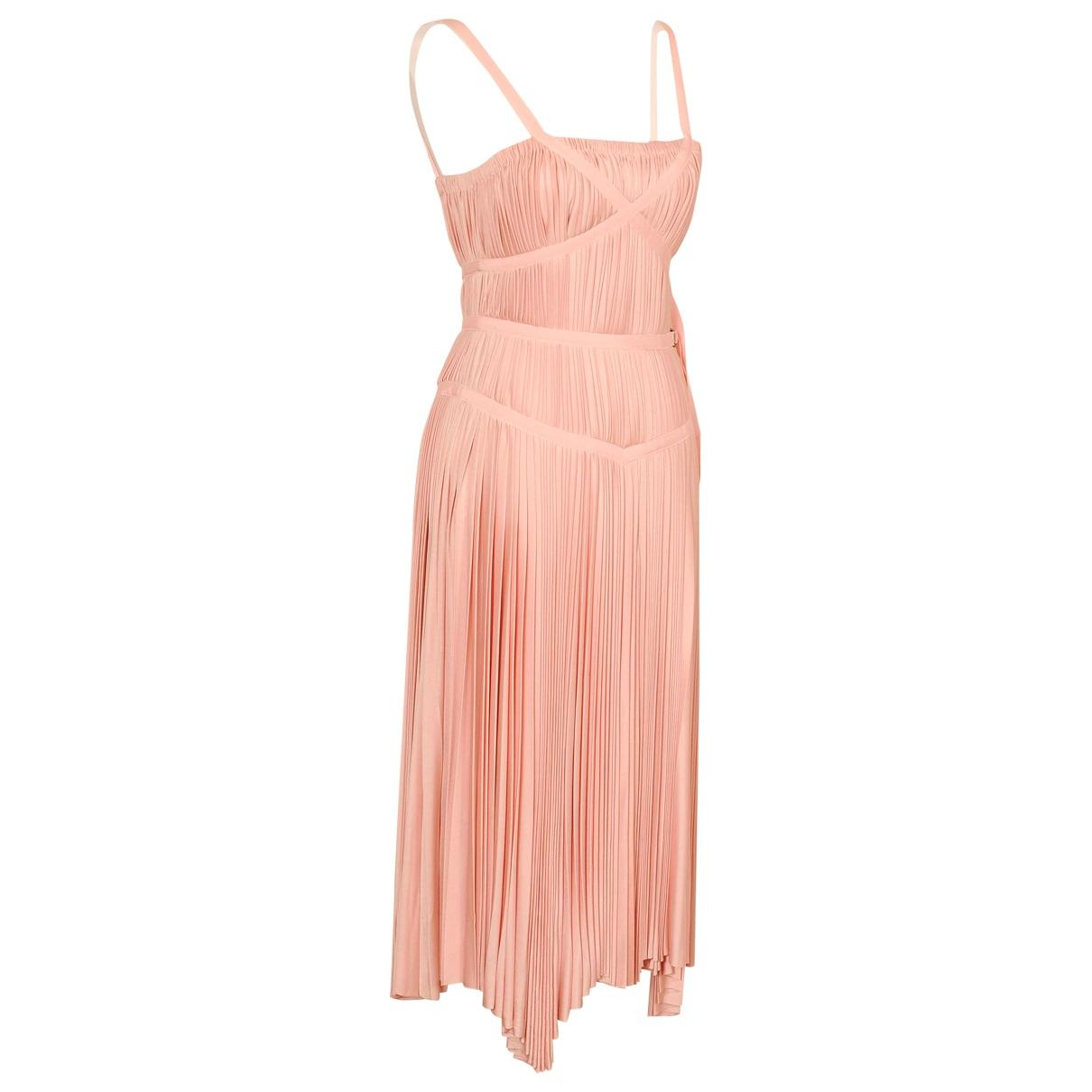 Prada \N Kleid in  Rosa Seide