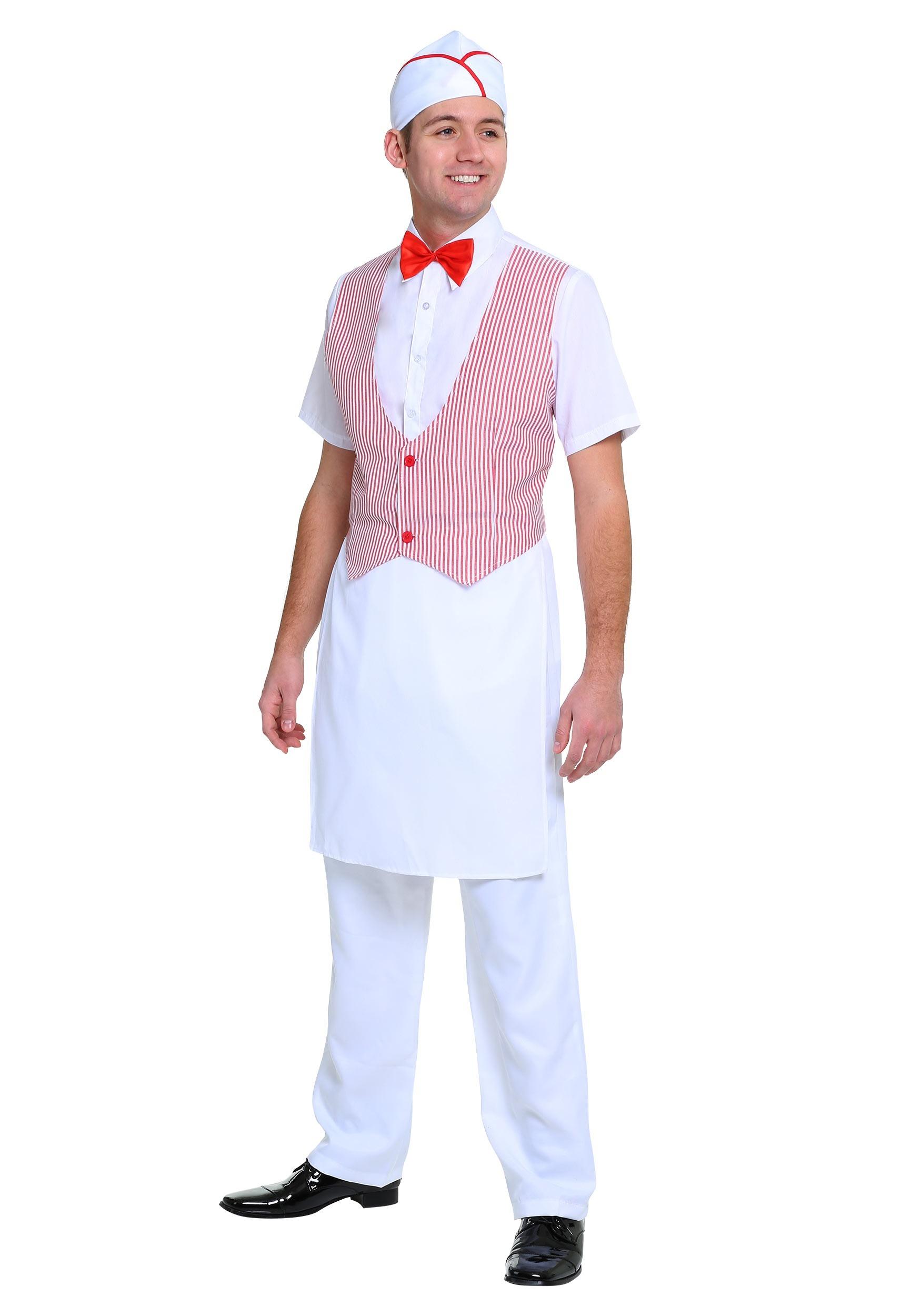 1950s Car Hop Costume for Men