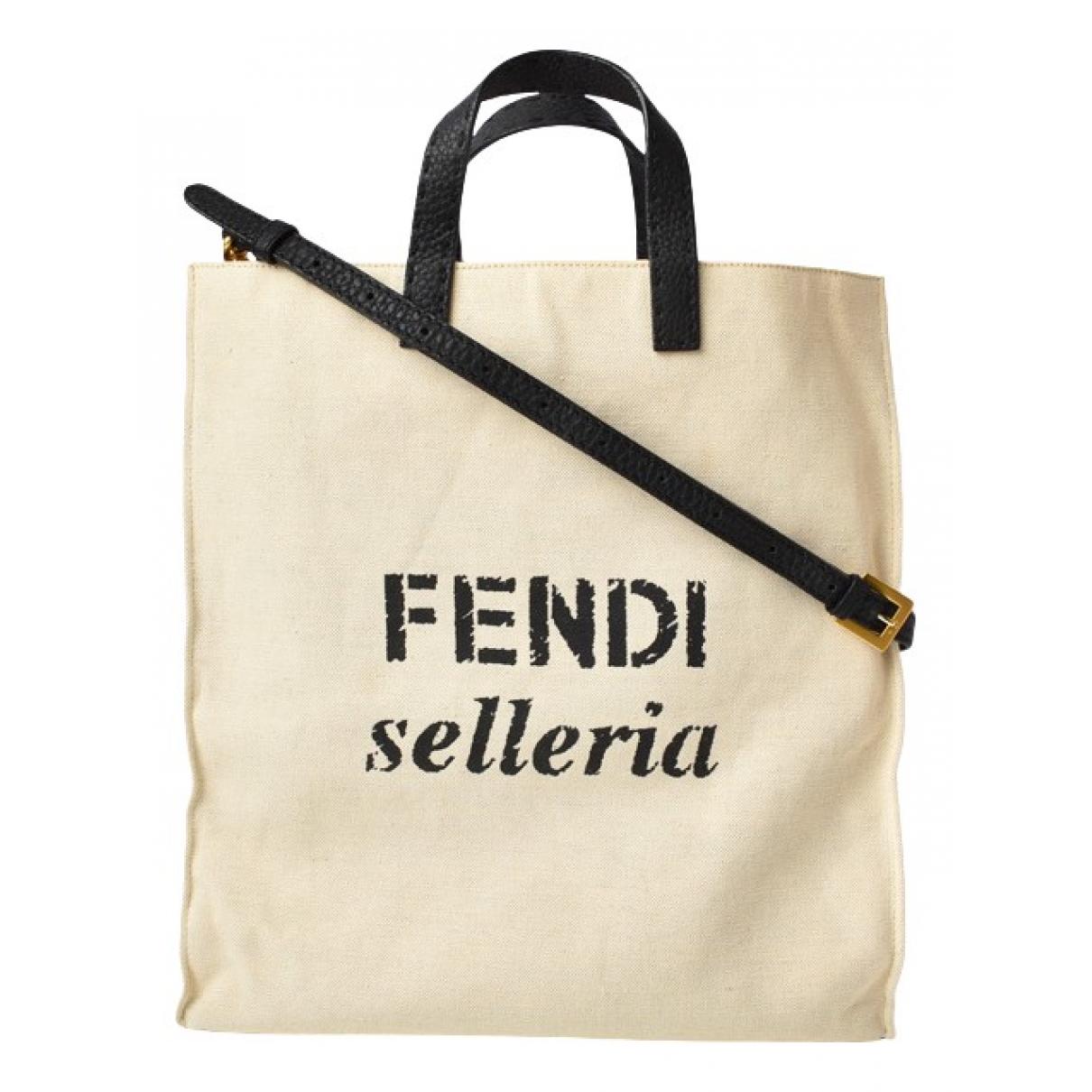 Fendi N Beige Cloth handbag for Women N