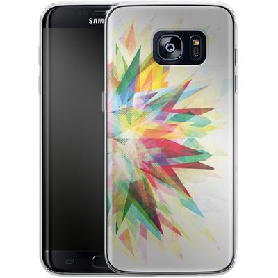 Samsung Galaxy S7 Edge Silikon Handyhuelle - Colorful 6 von Mareike Bohmer