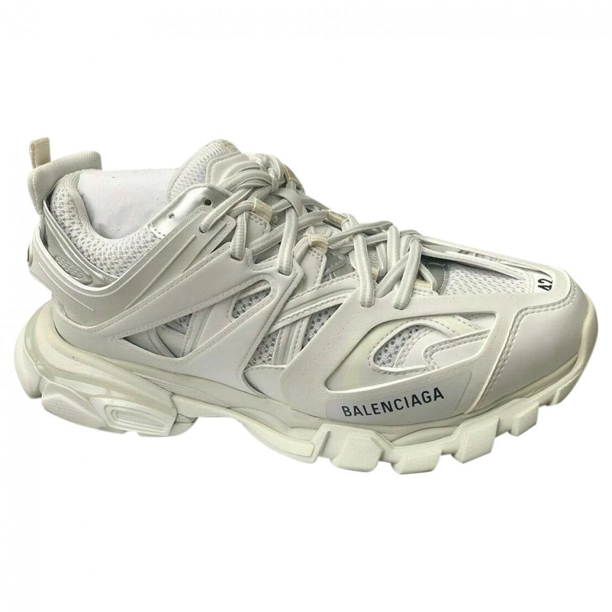 Balenciaga Track White Leather Trainers for Men 41 EU