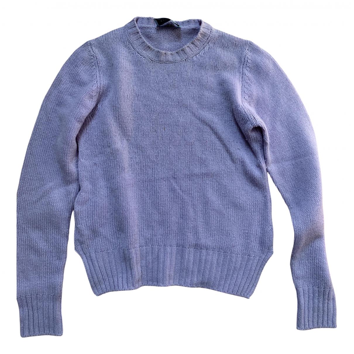 Prada \N Pullover in  Lila Kaschmir