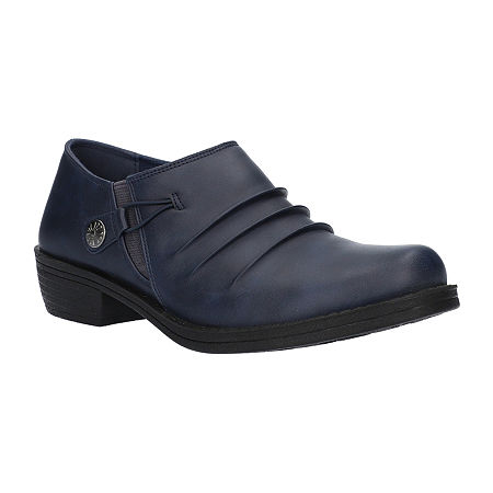 Easy Street Womens Korey Clogs, 12 Medium, Blue