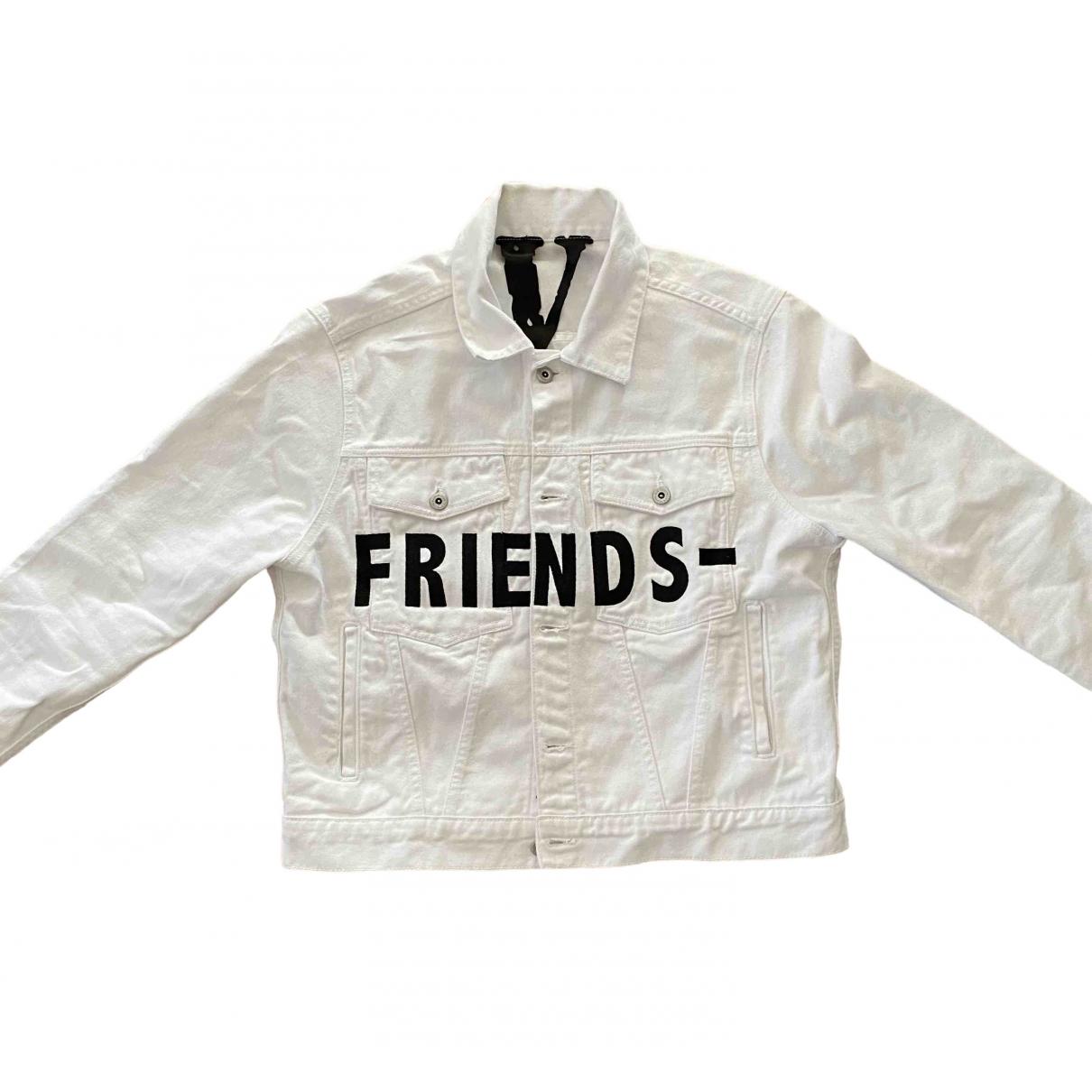 Vlone \N White Denim - Jeans jacket  for Men M International