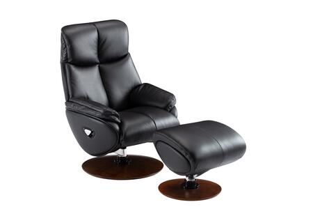 15-3725 Alicia Pedestal Recliner and Ottoman  in Capri