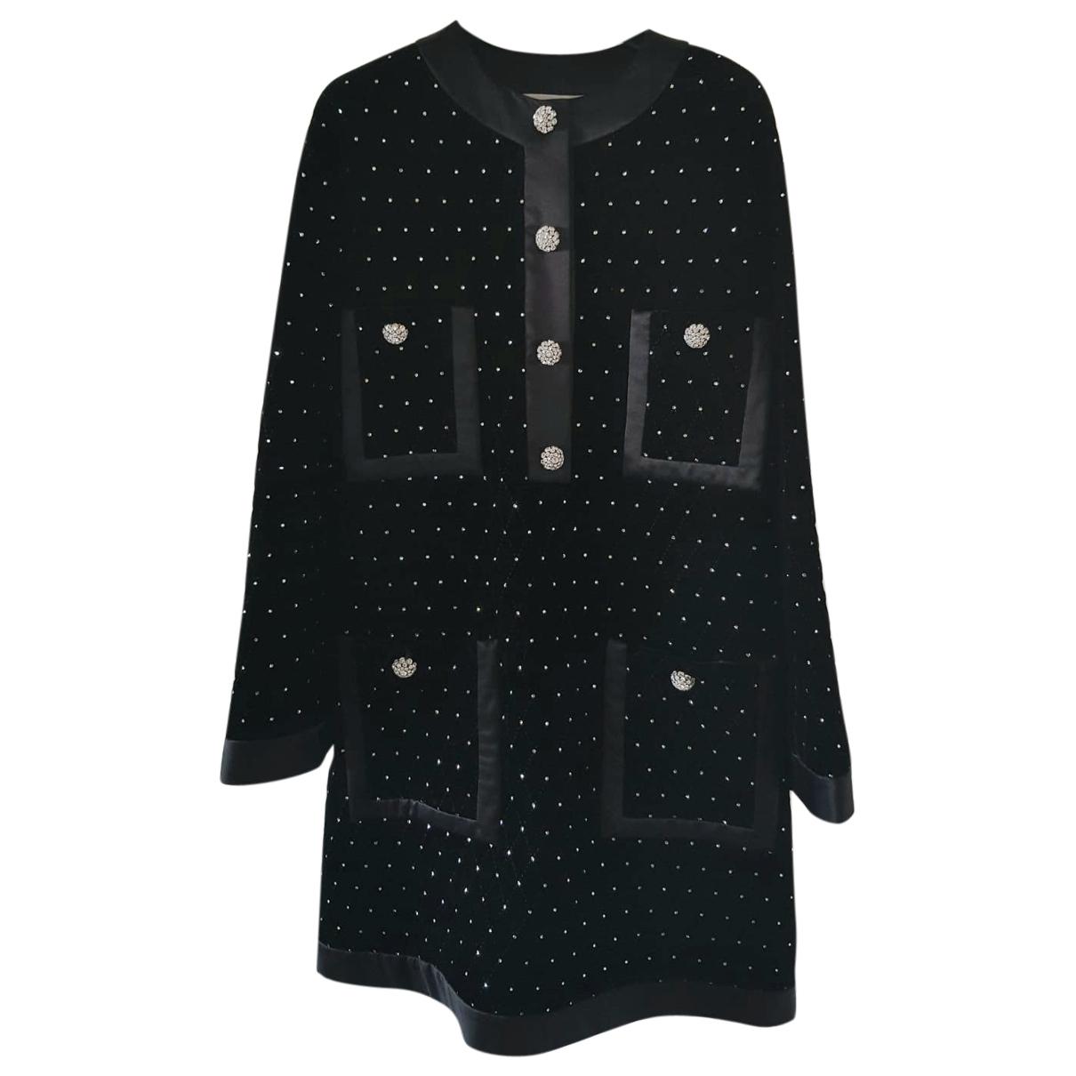 Gucci \N Black Velvet dress for Women 36 IT