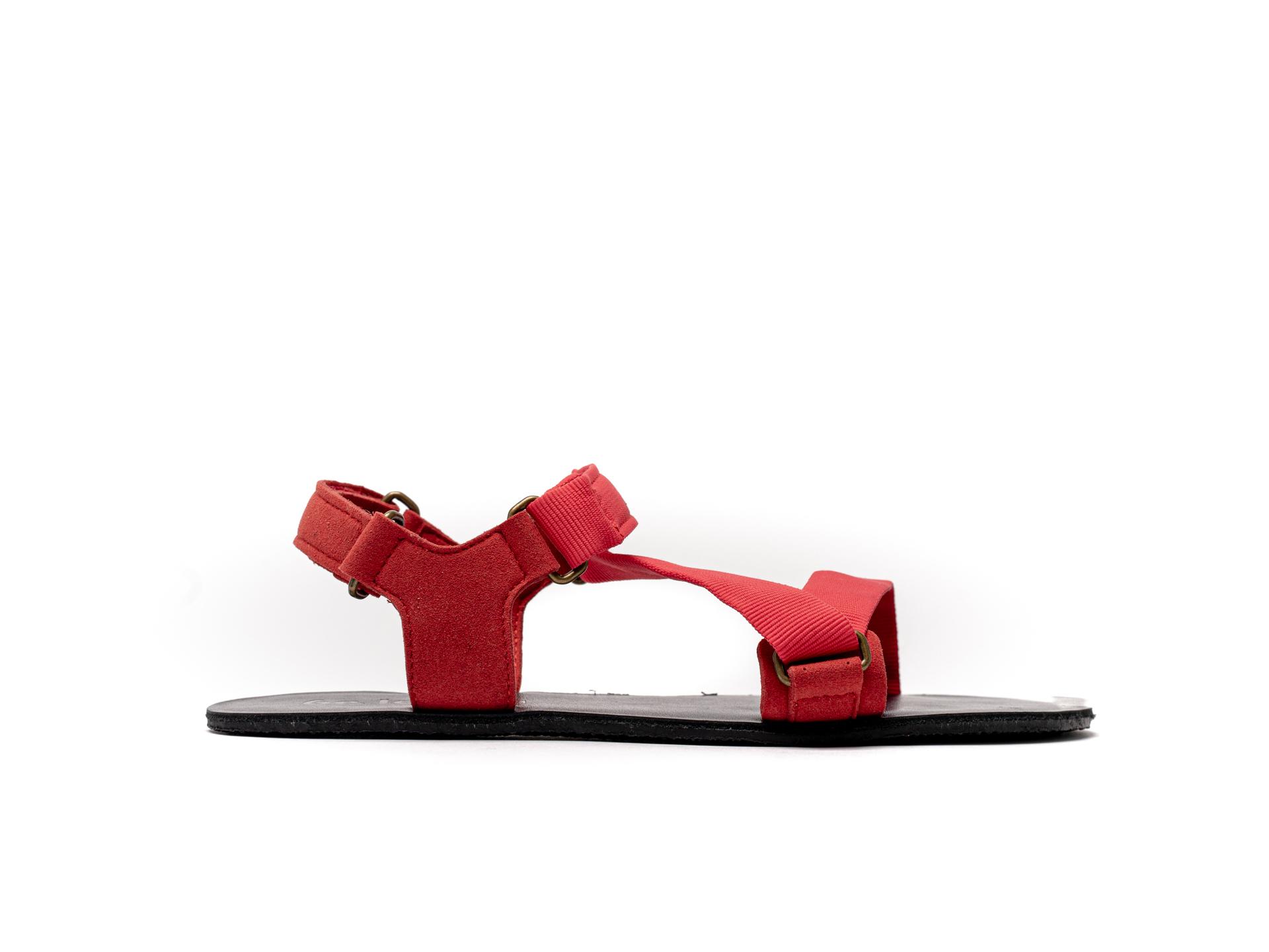 Barefoot Sandals - Be Lenka Flexi - Red 42