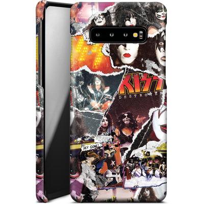 Samsung Galaxy S10 Plus Smartphone Huelle - KISS Collage von KISS®