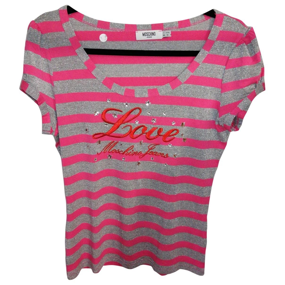 Moschino Love - Top   pour femme - multicolore