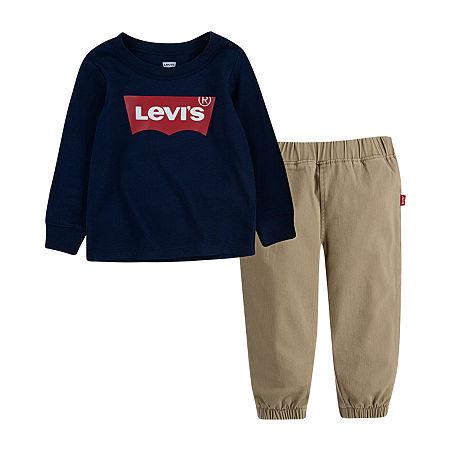 Levi's Baby Boys 2-pc. Pant Set, 3 Months , Blue