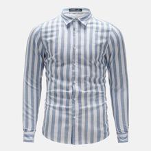 Men Two Tone Striped Shirt
